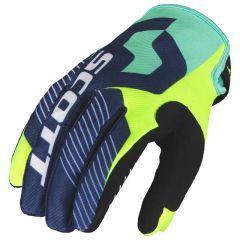 Scott  Hanska 350 Angled sininen/keltainen