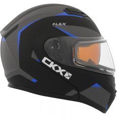 CKX Kypärä, avattava Flex RSV Sähkövisiirillä, Control sininen