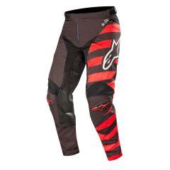 Alpinestars housut Racer Braap, musta/puna/valkoinen