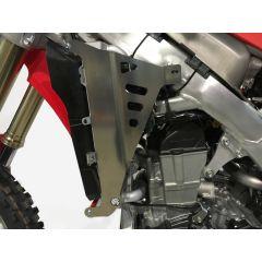 AXP Radiator Braces Red spacers Honda CRF450-CRF450RX 17-18