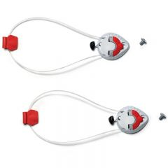Sidi Vortice tecno instep tensioner white/red (lower mechanism)
