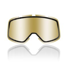 Shark double lens for RAW/Drak, Vancore, Explore-R goggle, mirrored gold