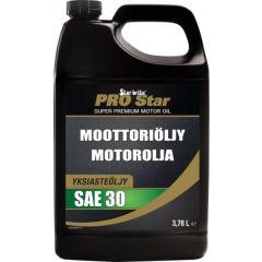 Star brite Moottoriöljy SAE30 diesel- ja bens.moottoreihin 3,78L