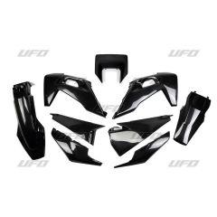 UFO Muovisarja 5-osainen Musta HVA TE/FE 125-450 20-