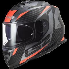 LS2 Kypärä FF800 STORM  RACER  Matta Titaani FLUO Oranssi