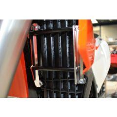 AXP Radiator Braces Black Spacers Ktm/Husqvarna 16-17