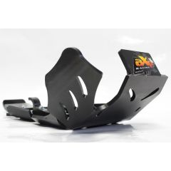 AXP Xtrem HDPE Skid Plate Black Husqvarna TE250-TE300 17-