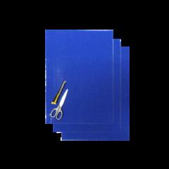 Blackbird Numerokilven tarra-arkki sininen 47x33cm (3kpl)