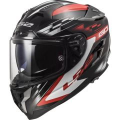 LS2 Kypärä FF327 Challenger GP Musta/Punainen