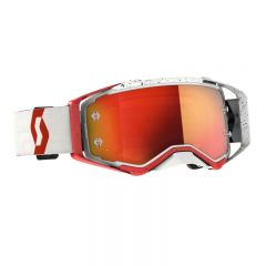 Scott Goggle Prospect red/white orange chrome works