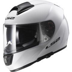 LS2 Kypärä FF397 VECTOR Solid valkoinen