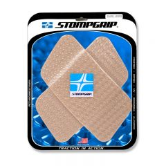 Stompgrip Universal Quadrilateral Tank Grips - Icon : Clear