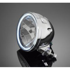 Highway Hawk Headlight with Led-Ring