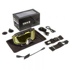 CKX Ajolasit 210° Sähkö musta/keltainen linssi