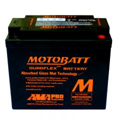 Motobatt akku, MBTX20UHD Black