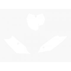 Blackbird numeropohjat valkoinen SX/SX-F 13-15