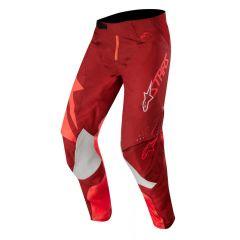 Alpinestars housut Techstar, puna/viininpunainen