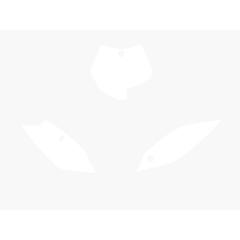 Blackbird numeropohjat valkoinen SX85 13-15