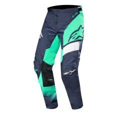 Alpinestars housut Racer Supermatic, t.sini/sinivihreä/valkoinen