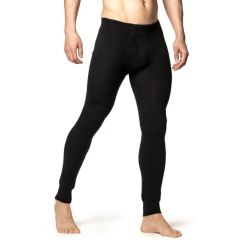 Woolpower Long Johns with Fly 200 musta