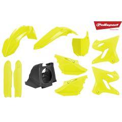 Polisport plastic Restyling kit YZ125/250 02-17 Flo yellow
