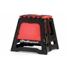 Polisport Motostand varikkopukki musta/punainen