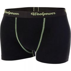 Woolpower Ms Merino boxer alushousut musta