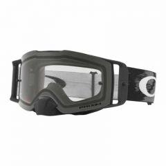 Oakley Goggles Front Line MX Matte Black Speed w/Clear Rolloff