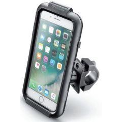 *Interphone Icase holder for Iphone7plus, iphone8 plus  tubular handlebar
