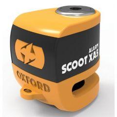 Oxford scooter XA5 Disc hälyttävä lukko, oranssi