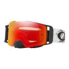 Oakley Goggles Front Line SX Matte White Speed w/ Dual Prizm Torch