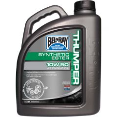 Bel-Ray Thumper® Racing Works 10W-50 Synthetic Ester 4T Engine Oil 4L