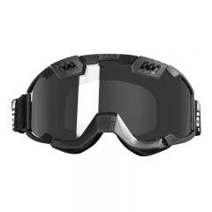 CKX Ajolasit 210° musta/peili linssi