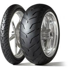 Dunlop D407 SW 180/65B16 81H TL Re. Harley-Davidson (Slim White Sidewall)
