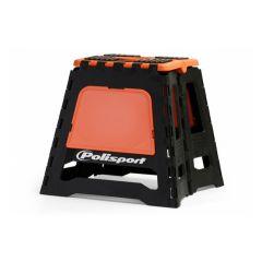 Polisport Motostand varikkopukki musta/oranssi