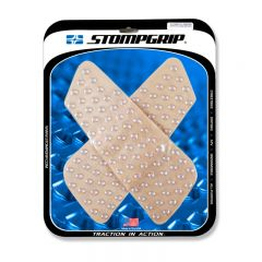 Stompgrip Universal Wedge Tank Grips - Super Volcano : Clear