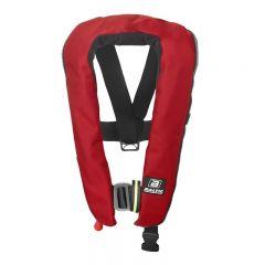 Baltic Winner harness auto ilmatäytteinen pelastusliivi punainen 40-150kg
