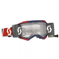 Scott Goggle Fury WFS red/blue clear works