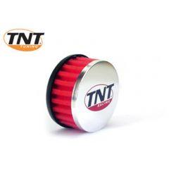TNT Ilmasuodatin, R-Box, Punainen, Kiinitys Ø 28/35mm, (Ø 85mm p. 39mm)