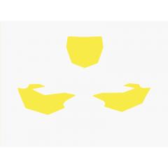 Blackbird numeropohjat keltainen YZF250/450 14-16