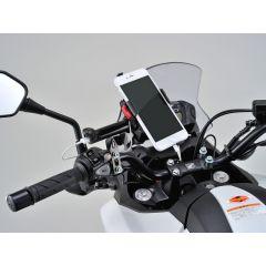 Daytona gps/puhelin kiinnike pääsylinteriin USB latausliittimellä