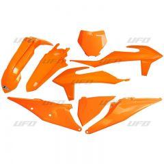 UFO Plastic kit 5-parts KTM SX/SXF125-450 19- Orange 127