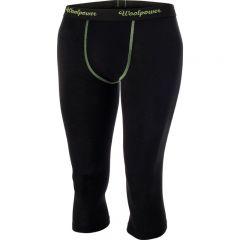 Woolpower 3/4 Long john Womens Merino alushousut musta