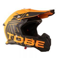 Tobe Terminator Kypärä, Stripe Orange/Black