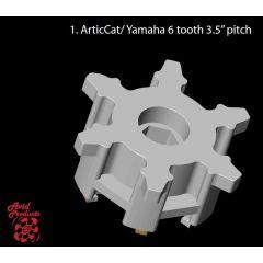 """Avid Vetopyöräpari AC/Yamaha 3,5"""" 6 hamp"""