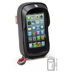 Givi älypuhelintasku Iphone 5 ohjaustanko kiinnityksellä