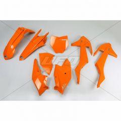 UFO Muovisarja 5-osainen Oranssi 127 KTM SX/SXF125-525 16-18