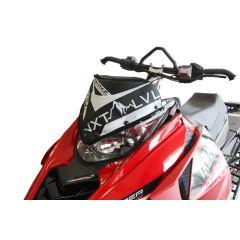 Skinz Next Level Tuulisuoja Laukku Musta/Valk 2014- Yamaha Viper