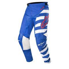 Alpinestars housut Racer Braap, sini/valko/punainen