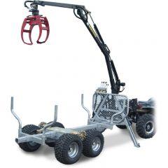 ATV GRAPPLE CRANE 350-II Hydraulisella vedolla